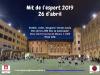 Horaris de la nit de l'esport 2019